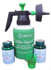 """Little Squirt"" Waterborne Paint Spray Gun Cleaner"